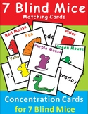 Seven Blind Mice Concentration/Memory Cards