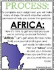 Seven Continent Web-Quest (with worksheets and quizzes)