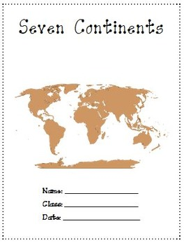 Seven Continents A Research Project