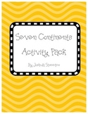 Seven Continents Activity Pack
