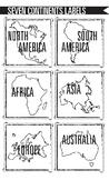 Seven Continents Labels
