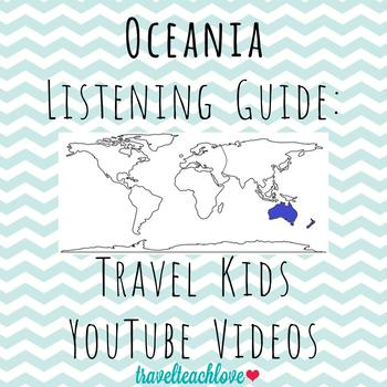 Continents: (Australia) Oceania Listening Guide