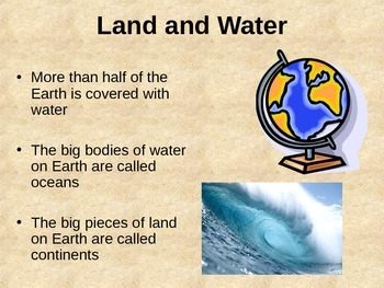 Seven Continents Powerpoint Presentation w/ Quiz