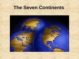 Seven Continents Powerpoint Presentation w/ Quiz