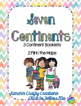 Seven Continents of the World; Booklets & Handouts