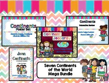 Seven Continents of the World - Mega Bundle