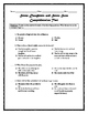 Seven Daughters and Seven Sons Comprehension Test