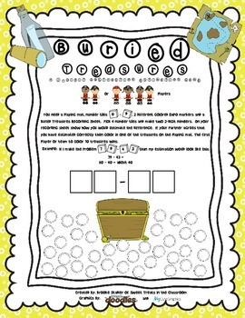 Seven Days A Week Subtraction Bundle