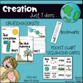 Seven Days of Creation booklets & sequencing cards