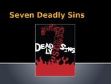 Seven Deadly Sins Powerpoint - Canterbury Tales or Other S
