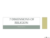 [Humanities] Seven Dimensions of Religion - Powerpoint Presentation