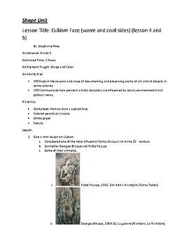 Seven Elements of Art Grade Five- 20 lessons