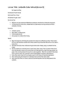 Seven Elements of Art Grade Four- 21 lessons