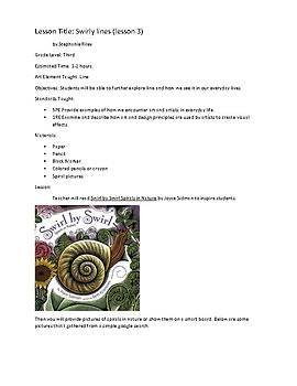 Seven Elements of Art Grade Three- 23 lessons