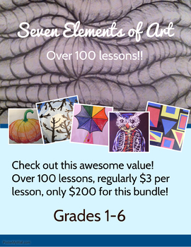 Seven Elements of Art- Grades 1-6