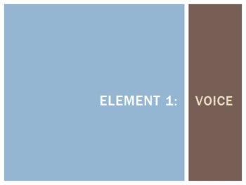 Seven Elements of Poetry