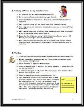 Seven Greatest Classroom Irritations for Teachers with Possible Solutions