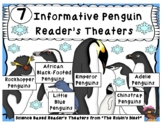 Seven Informative Penguin Reader's Theaters w/Vocabulary Activities