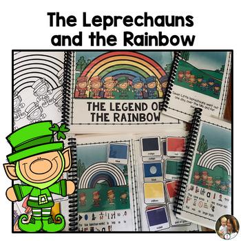 St. Patricks Day, Leprechaun interactive story, rebus read