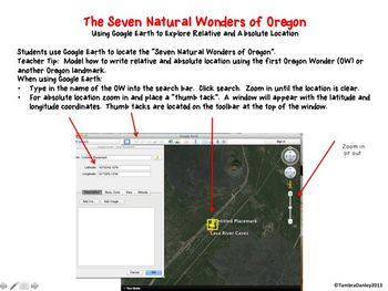 Seven Natural Wonders of Oregon:  A Relative and Absolute Location Unit