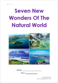 Seven New Wonders Of The Natural World
