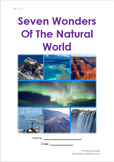 Seven Original And New Natural Wonders Of The World