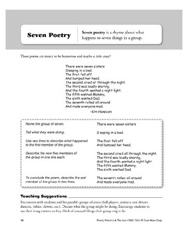 Seven Poetry