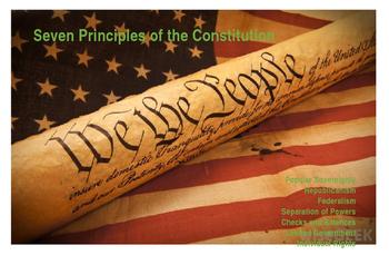 Seven Principles of Government Mini Posters