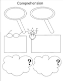 Seven Reading Comprehension Strategies Graphic Organizer Worksheets