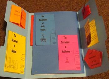 Seven Sacraments Catholic Lapbook