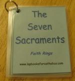 Seven Sacraments Faith Ring Flashcards