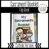 Seven Sacraments Flipbook - Seven Sacraments Tab Book - Ca