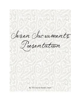 Seven Sacraments Presentation Project