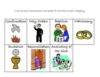 Seven Sacraments Sort