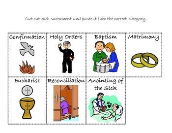 Seven Sacraments Sort