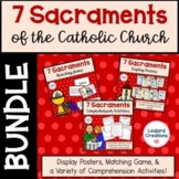Seven Sacraments of the Catholic Church BUNDLE