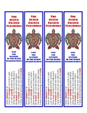 Seven Sacred Teachings Bookmark