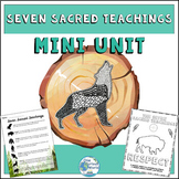 Seven Sacred Teachings Mini Unit with Art Project for Soci