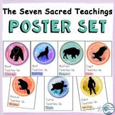 Seven Sacred Teachings for Social Emotional Learning Poster Set