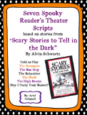 """Seven """"Scary Stories to Tell in the Dark"""" Spooky Reader's Theater Scripts"""