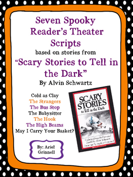 "Seven ""Scary Stories to Tell in the Dark"" Spooky Reader's"
