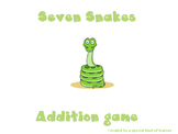 Seven Snakes Addition Game