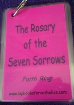 Seven Sorrows Rosary Faith Ring