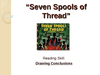 Seven Spools of Thread - California Treasures - Drawing Conclusions