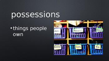 Seven Spools of Thread - Treasures Vocabulary Lesson - Unit 4 Lesson/Week 1