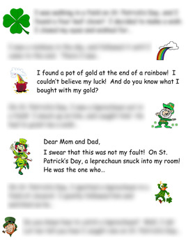 Seven St. Patrick's Day Writing Prompts
