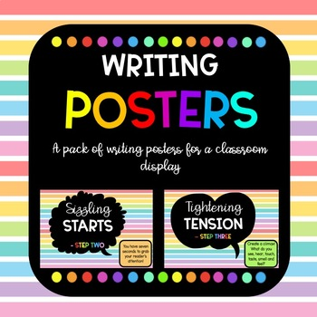 Seven Steps Writing Posters