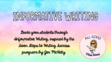 Seven Steps to Writing Success - Informative Writing Bundle