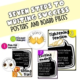 Seven Steps to Writing Success Posters and Board Pieces