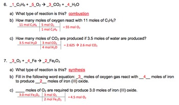 Seven Stoichiometry Worksheets with Keys
